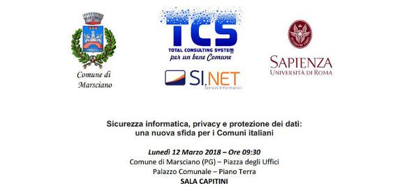 Sicurezza informatica, privacy e protezione dei dati: una nuova sfida per i Comuni italiani